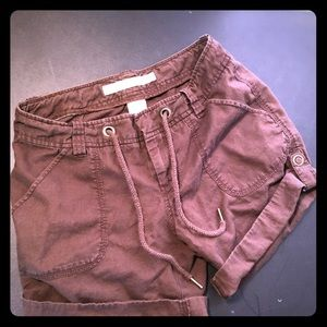 Brown old navy shorts size 2